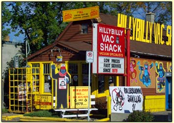 Hillybilly Vac Shack